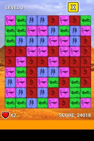 android Pyramid Stone Blast Saga Screenshot 3