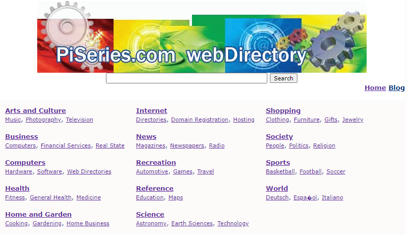 Low-Quality Directory Backlinks Example Screenshot
