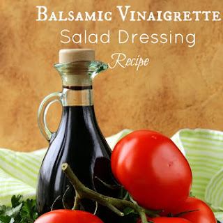 Homemade Balsamic Vinaigrette Salad Dressing