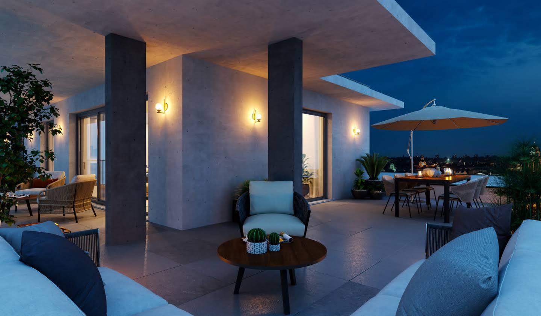 Appartement avec terrasse en bord de mer Porticcio
