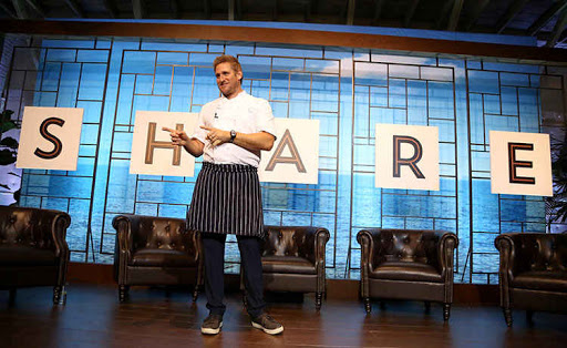 Curtis Stone at the Share launch event.