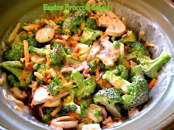 ~ Easter Broccoli Salad ~ Recipe