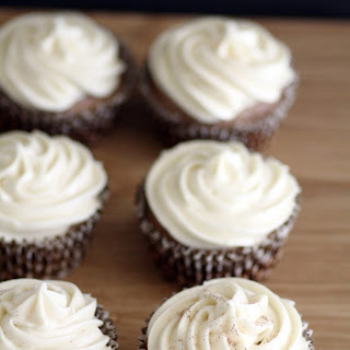 Homemade Georgetown Cupcakes with a twist.