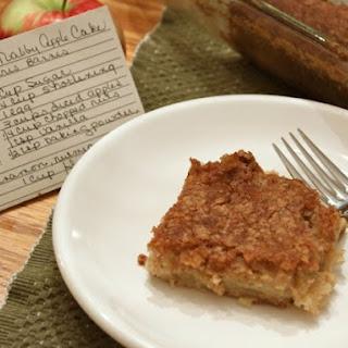 Gluten-Free Nubby Apple Cake