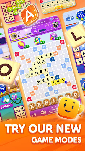 Scrabbleu00ae GO - New Word Game android2mod screenshots 3