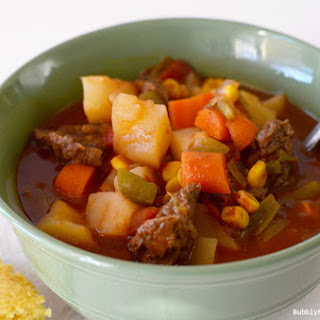 Mom's Vegetable Beef Stew (Crockpot)