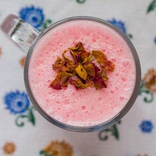 Gulab Lassi-Rose Flavored Lassi Recipe