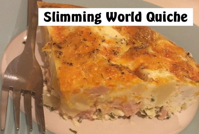 Slimming World Quiche Recipe