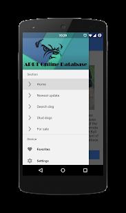 APBT Database - náhled
