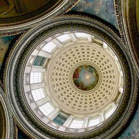Le Panthéon by Timothy Carney - Buildings & Architecture Other Interior ( paris, panthéon, dome )