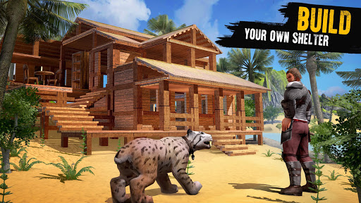 Jurassic Survival Island: Dinosaurs & Craft 3.3.0.8 APK MOD screenshots 2