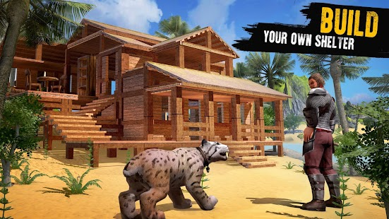 Jurassic Survival Island: Dinosaurs & Craft Screenshot