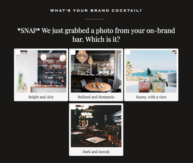 question about brand bar with images