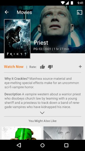 SonyCrackle–Free TV & Movies screenshot 7