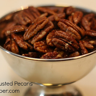 Cinnamon Crusted Pecans