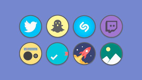 Flat Circle – Icon Pack 3