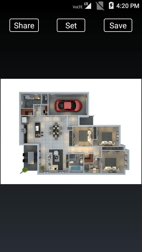 3D Home Designs- screenshot