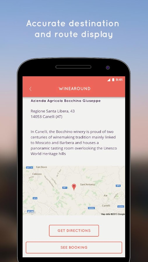 WineAround- screenshot