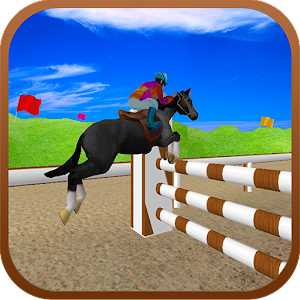 Black Horse Jumping Racing 3D for PC and MAC