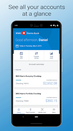 Screenshot for BMO Digital Banking in United States Play Store