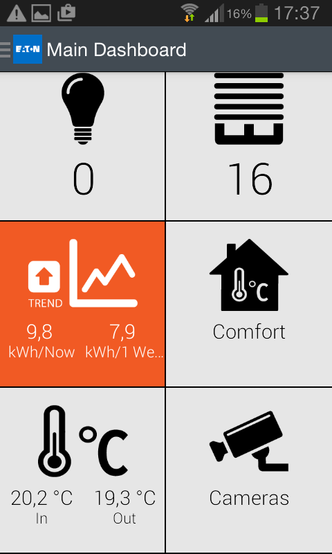 xComfort Smart Home Controller- screenshot