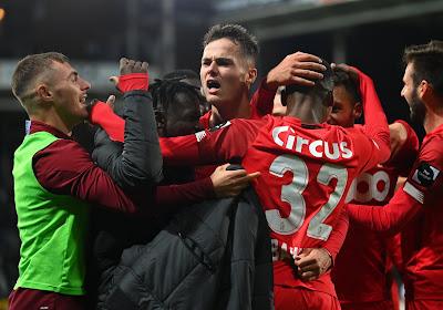 Le Standard émerge, sale semaine pour Charleroi