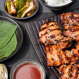 Korean Grilled Chicken.