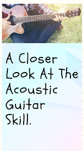 The Truth of Acoustic Guitar - náhled