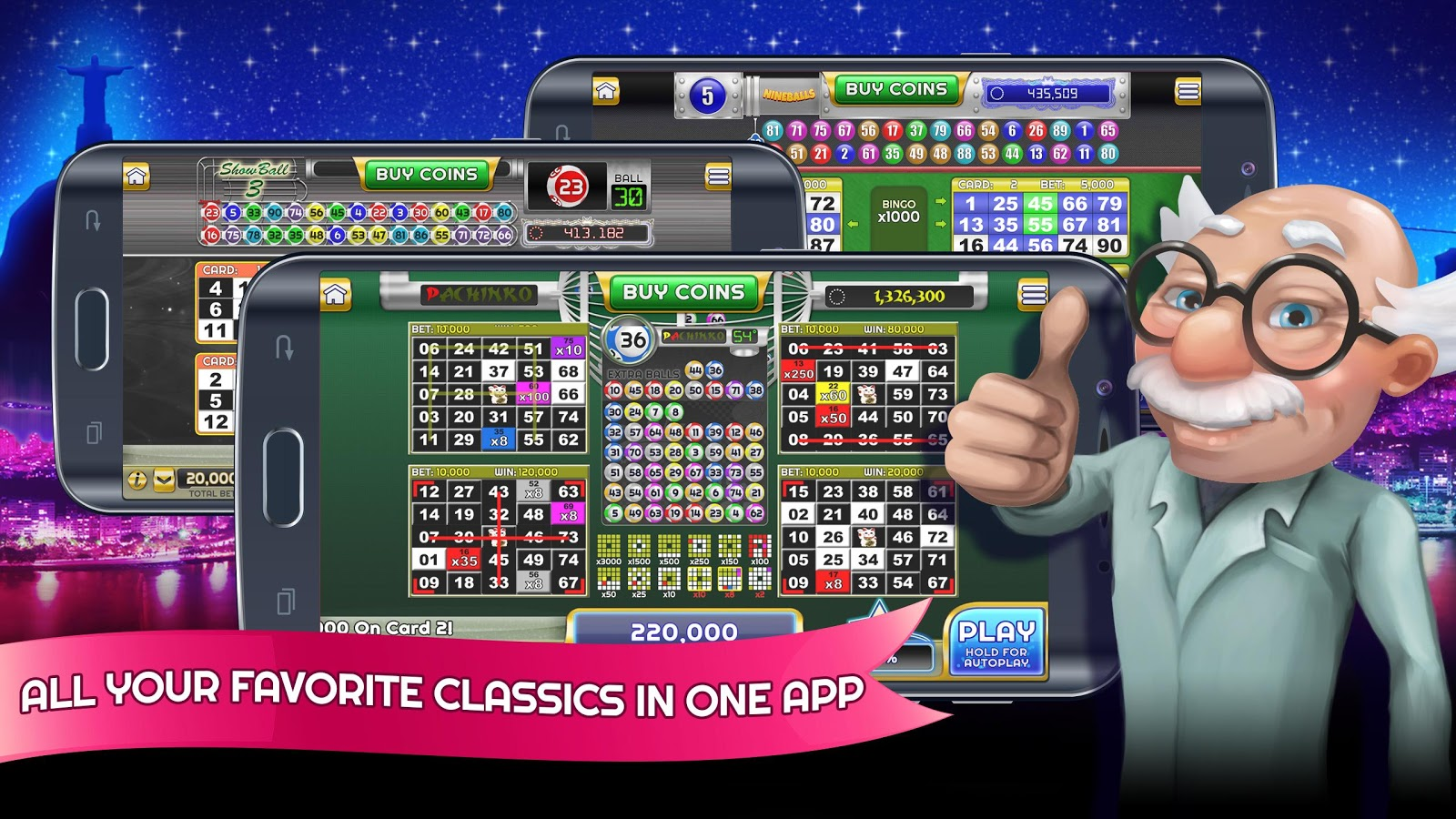 Play Nineballs Bingo online for free now!