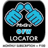 MyBro OFW Locator (Subscription - P100)