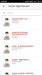 kamineni Hospital App screenshot 3