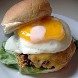 Tamago Hambagu (cheese Hamburg With Egg)