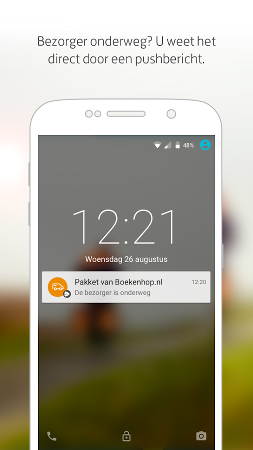 PostNL- screenshot