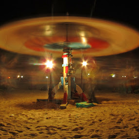 merry go round by Divya Balaji - Novices Only Abstract ( merry go round )