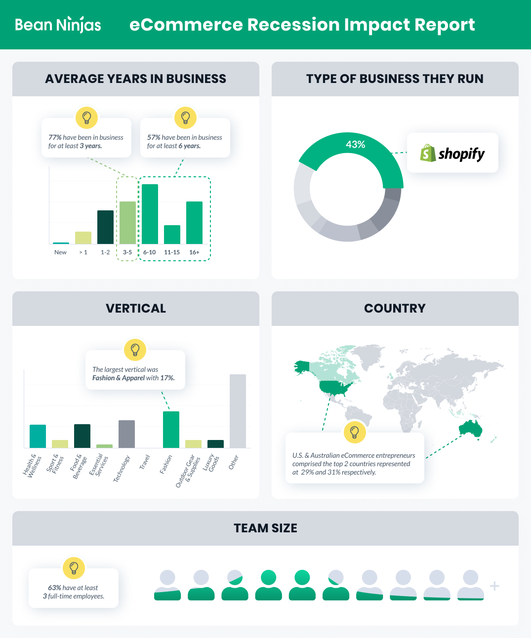 Ecommerce Report Overview Graphic