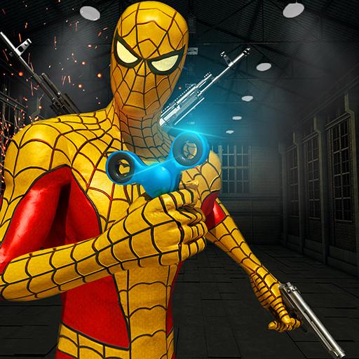 Spider Hero Gangster Crime 3D