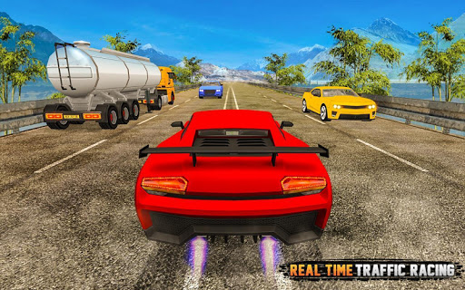 City Highway Traffic Racer - 3D Car Racing apktram screenshots 8