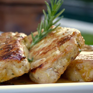 Honey Mustard Rosemary Pork Chops
