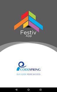 FestivApp - náhled