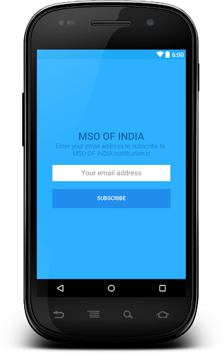 MSO OF INDIA