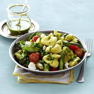 Tortellini and Vegetable Salad.