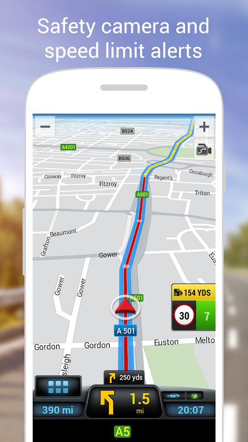 CoPilot Premium Europe - GPS- screenshot