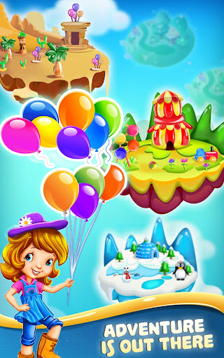 Balloon Burst Paradise: Free Match 3 Games - screenshot