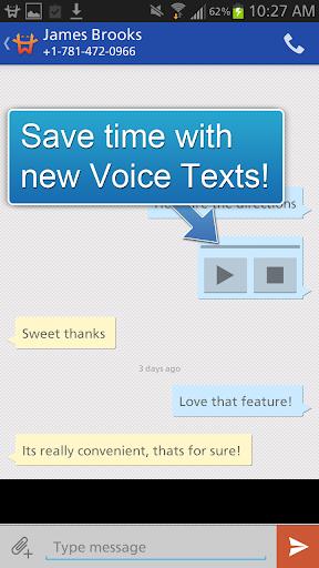 GoHeyWire Text FREE Texting screenshot 8