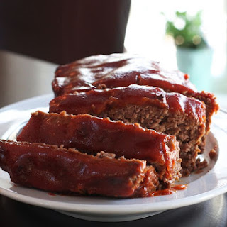Simple Meatloaf with Optional Topping Recipe