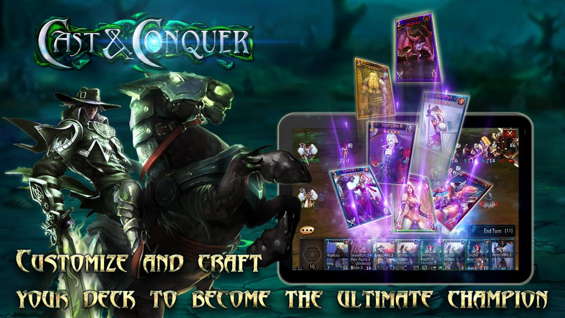 Cast & Conquer- screenshot
