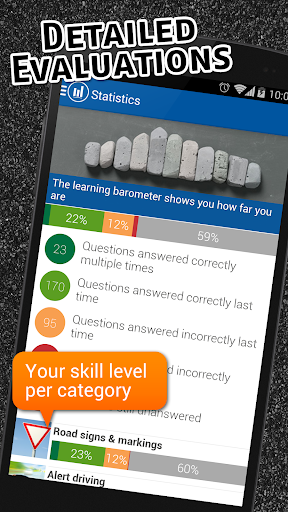 Screenshot for iTheory Driver Theory Test (DTT) Ireland 2019 in Hong Kong Play Store
