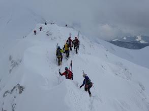 Photo: Alta densità scialpinistica