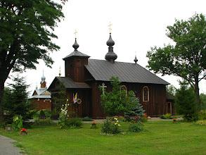 Photo: Cerkiew świętego męczennika Nikity (zm. w 370 r.) neounicka, czyli katolicka, obrządku bizantyjsko-słowiańskiego.
