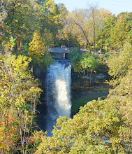 Photo: Minnehaha Falls was a favorite subject of pioneer photographers, beginning with Alexander Hesler's daguerreotype in 1852. Although he never visited the park, Henry Wadsworth Longfellow helped to spread the waterfall's fame when he wrote his celebrated poem, The Song of Hiawatha.